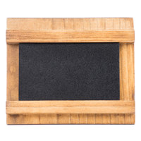 Cal-Mil 3489-23-99 3 1/2 inch x 2 inch Madera Chalkboard Stand