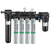 Everpure EV9437-10 High Flow CSR Quad-MC2 Water Filtration System with Pre-Filter - .5 Micron and 6.7 GPM