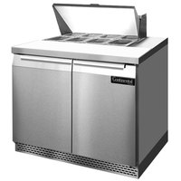 Continental Refrigerator SW36-8-FB 36 inch 2 Door Front Breathing Refrigerated Sandwich Prep Table