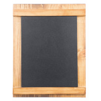 Cal-Mil 3489-811-99 8 1/2 inch x 11 inch Madera Chalkboard Stand