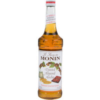 Monin 750 mL Premium Toasted Almond Mocha Flavoring Syrup