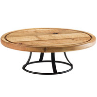 Cal-Mil 3481-99 Madera 13 1/2 inch Reclaimed Wood Cake Pedestal