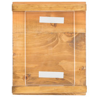 Cal-Mil 3483-46-99 Madera 4 inch x 6 inch Reclaimed Wood Displayette