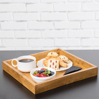 Cal-Mil 3474-99 Madera 13 inch x 12 inch x 1 1/2 inch Rustic Pine Coffee Tray