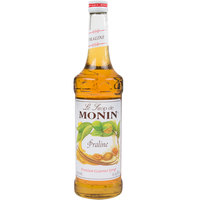 Monin 750 mL Premium Praline Flavoring Syrup