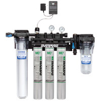 Everpure EV9328-05 High Flow CSR Triple-MC2 Water Filtration System with Pre-Filter and Low Pressure Alarm - .5 Micron and 5 GPM