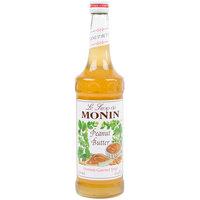 Monin 750 mL Premium Peanut Butter Flavoring Syrup