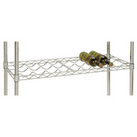27 Bottle Cradle Wine Rack - 36 inch x 14 inch x 14 inch