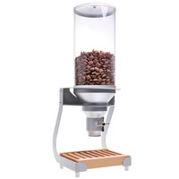 Cal-Mil 3513-1-98 Beechwood Turn and Serve 1 Cylinder Cereal Dispenser - 11 3/4 inch x 11 inch x 31 inch