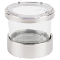 Cal-Mil 1851-4NL 16 oz. Luxe Mixology Jar with Notched Lid