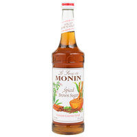 Monin 750 mL Premium Spiced Brown Sugar Flavoring Syrup