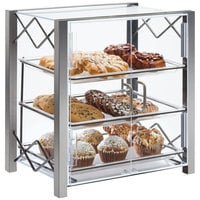 Cal-Mil 3503-1318 Industrial 3 Tier Bakery Display Case- 20 1/2 inch x 17 inch x 21 7/8 inch