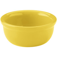 Hall China 30413320 Sunflower 8 oz. Colorations Baking Bowl - 24/Case