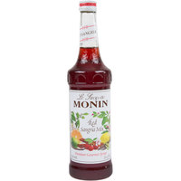 Monin 750 mL Premium Red Sangria Mix