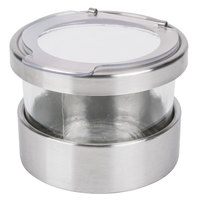 Cal-Mil 1851-4HL 16 oz. Luxe Mixology Jar with Hinged Lid