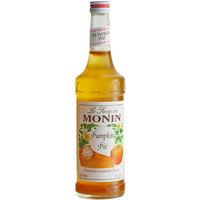 Monin 750 mL Premium Pumpkin Pie Flavoring Syrup