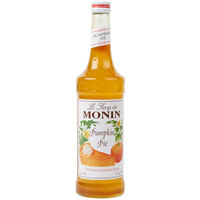 Monin 750 mL Premium Pumpkin Pie Flavoring Syrup