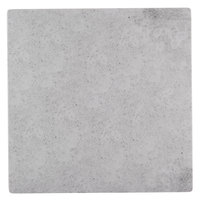 Cal-Mil 1522-1212-77 12 inch Square Faux Cement Serving Platter