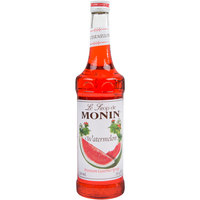 Monin 750 mL Premium Watermelon Flavoring / Fruit Syrup
