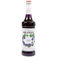 Monin 750 mL Premium Violet Flavoring Syrup