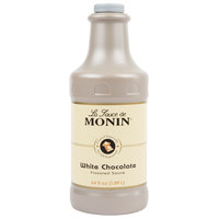 Monin 64 oz. White Chocolate Flavoring Sauce