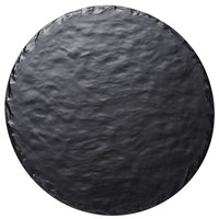 Cal-Mil 3502-15-65M 15 inch Round Faux Slate Serving Board