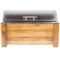 Cal-Mil 3429-99 Madera Chafer with Lid - 23 inch x 14 1/2 inch x 13 1/2 inch