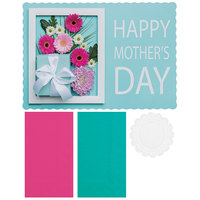 Hoffmaster 856779 10 inch x 14 inch Mother's Day Placemat Combo Pack   - 250/Case