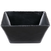 Cal-Mil 3498-8-65M 8 inch Square Faux Slate Bowl
