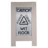 Cal-Mil 3504 22 inch 2-Sided Composite Outdoor Wet Floor Sign
