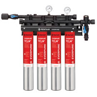 Everpure EV9771-14 QC7I Quad-7CLM+ Water Filtration System - 5 Micron and 6.68/5.33/4 GPM
