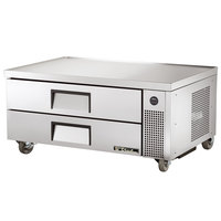 True TRCB-52 52 inch Two Drawer Refrigerated Chef Base