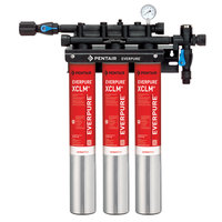 Everpure EV9761-13 QC7I Triple-XCLM+ Water Filtration System - 5 Micron and 6/5.01/3 GPM