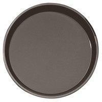 Cambro PT1100167 Brown 11 inch Round Polytread Serving Tray