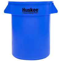 Continental 2000BL Huskee 20 Gallon Blue Trash Can