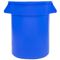 20 Gallon Blue Trash Can