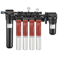 Everpure EV9771-34 High Flow CSR Quad-7CLM+ Water Filtration System with Pre-Filter and Scale Reduction - 5 Micron and 6.68/5.33/4 GPM