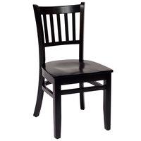 BFM Seating LWC102BLBLW Delran Black Wood Side Chair  sc 1 st  WebstaurantStore & Wood Restaurant Chairs | Wooden Restaurant Chairs