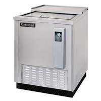 Continental Refrigerator CBC24-SS 24 inch Stainless Steel Horizontal Front Breathing Bottle Cooler