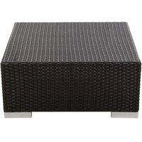 BFM Seating PH5104JV Aruba Java Wicker Coffee Table