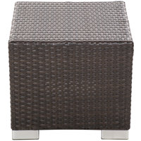 BFM Seating PH5105JV Aruba Java Wicker End Table