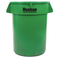 Continental 3200GN Huskee 32 Gallon Green Trash Can
