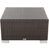 BFM Seating PH5106JV Aruba Java Wicker Ottoman
