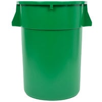 44 Gallon Green Trash Can