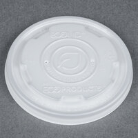 Eco Products EP-ECOLID-SPS EcoLid 8 oz. Soup / Hot & Cold Food Cup Lid - 50 / Pack