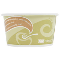 Eco Products EP-BRSC12-EW Evolution World 12 oz. Soup / Hot & Cold Food Cup   - 25/Pack