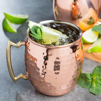 20 oz. Hammered Copper Moscow Mule Mug