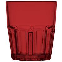 GET 9912-1-R Bahama 12 oz. Red Break-Resistant Plastic Tumbler - 72/Case