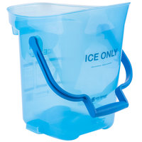 San Jamar SILD6000 6 Gallon Light Duty Ice Tote