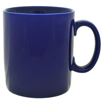 10 Strawberry Street XLBRL-CBLT 26 oz. Cobalt Oversized Barrel Mug - 12/Case